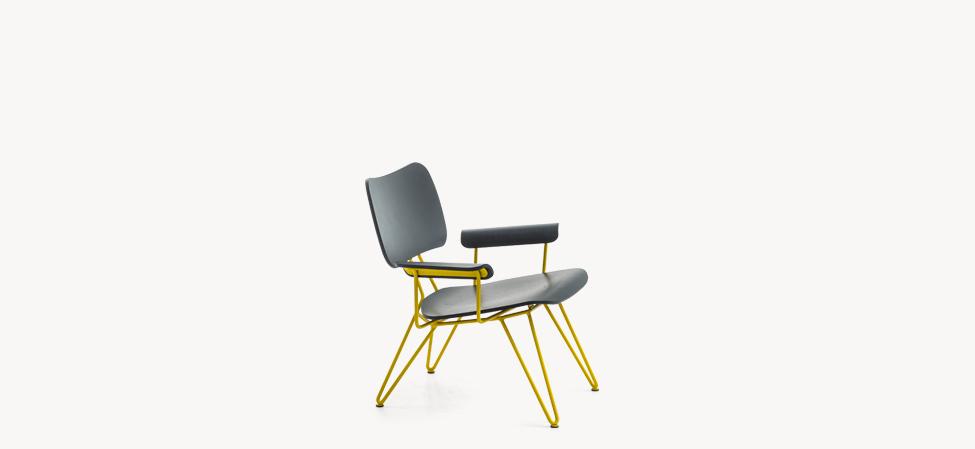 Moroso Moroso Overdyed Lounge Chair