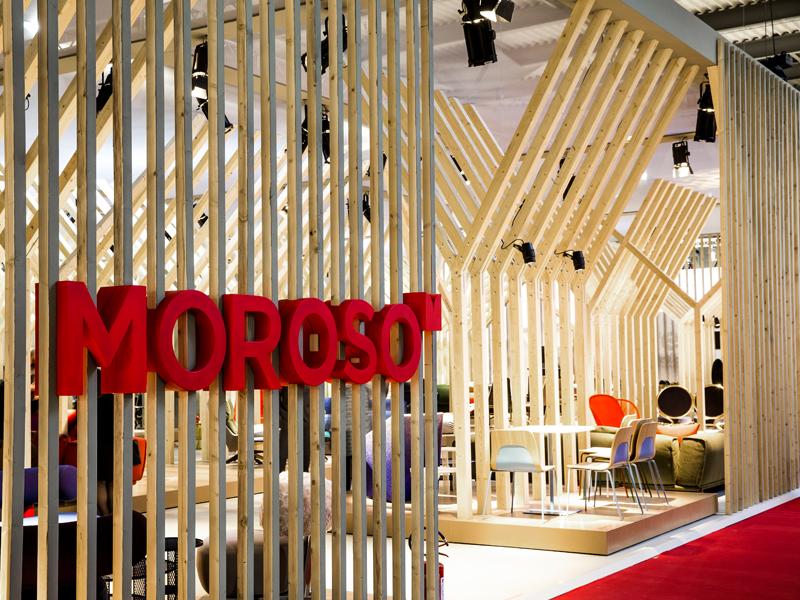Moroso Moroso Moroso At The 2015 Milan Furniture Show